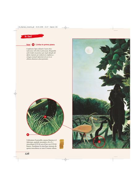 Correzione testi, rifacimento, miglioramento, verifica dei dati, nuovo timone e reimpaginazione di Dipingi i Grandi Maestri, Edito da Peruzzo International.