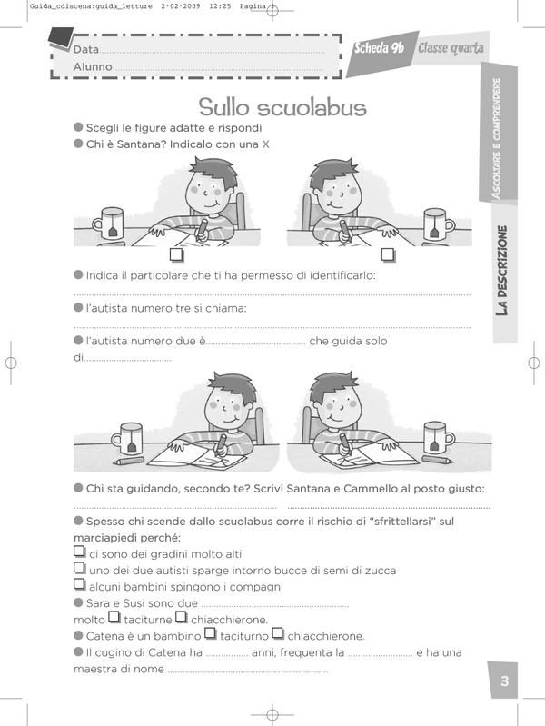 Impaginazione della Guida per l'insegnante