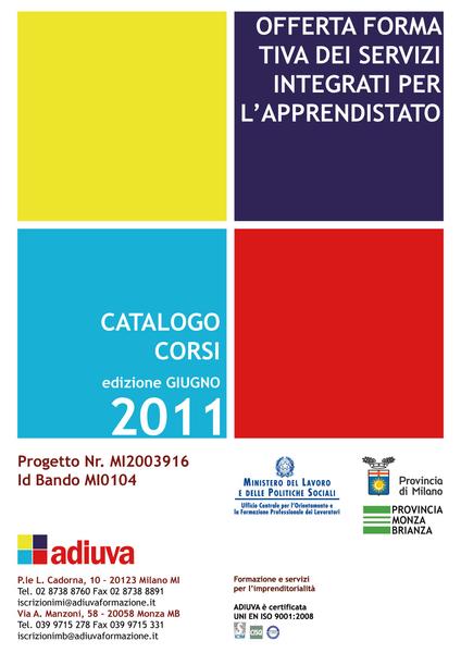 Pubblicità per scuole e formazione