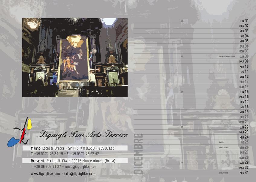 Calendari, biglietti da visita, cartelline di presentazione, sito internet